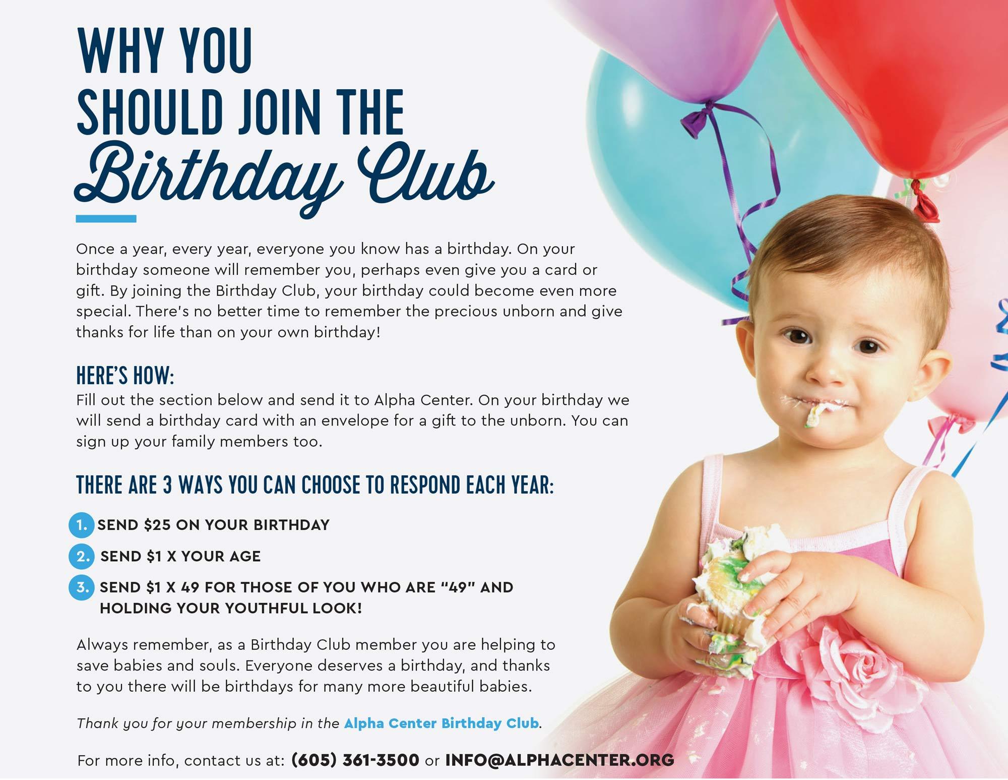 childrens own birthday club